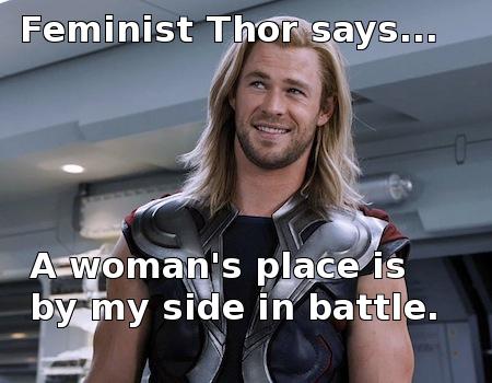 feminist thor